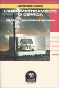 L' addomesticamento di Derrida. Pragmatismo/decostruzione
