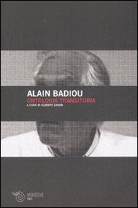 Libro Ontologia transitoria Alain Badiou