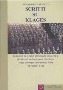 Scritti su Klages