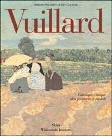 Camfeed.it Vuillard. Catalogue critique des peintures et pastels. Ediz. illustrata Image