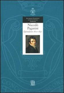 Ilmeglio-delweb.it Niccolò Paganini. Epistolario. Ediz. illustrata. Vol. 1: 1810-1830. Image