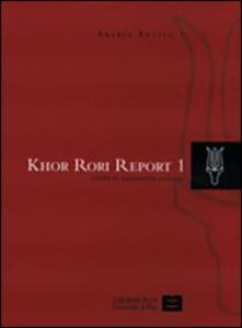 Khor Rori. Report 1. Vol. 1