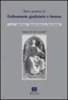Daddyswing.es Testi e questioni di ordinamento giudiziario e forense. Vol. 2: Atti normativi. Image