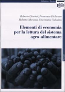Aboutschuster.de Elementi di economia per la lettura del sistema agroalimentare Image