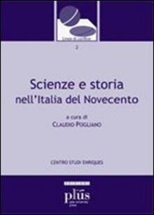 Scienze e storia nellItalia del Novecento.pdf