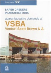 Quarantaquattro domande a VSBA. Venturi, Scott Brown & A
