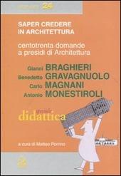 Centotrenta domande a presidi di Architettura