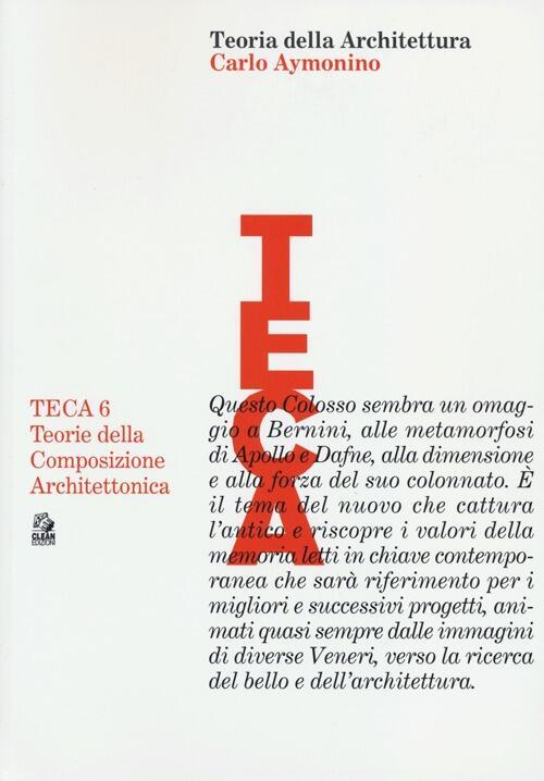 Teoria della architettura carlo aymonino libro clean for Clean significato