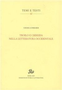 Troilo e Criseida nella letteratura occidentale
