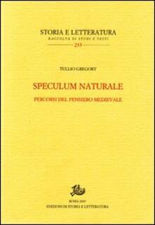 Camfeed.it Speculum naturale. Percorsi del pensiero medievale Image