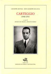 Carteggio (1940-1957)
