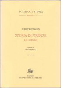 Storia di Firenze. Le origini
