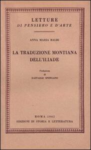 La traduzione montiana dell'Iliade