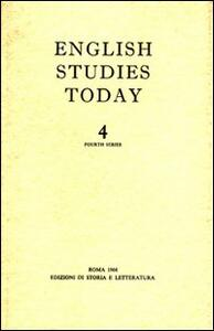 English studies today. Vol. 4
