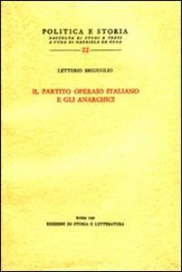Il partito Operaio Italiano e gli anarchici