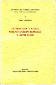 Letteratura e storia nell'Ottocento francese e altri saggi