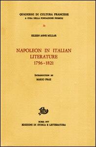 Napoleon in Italian literature (1796-1821)