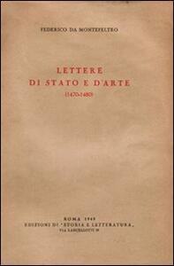 Lettere di stato e d'arte (1470-1480)