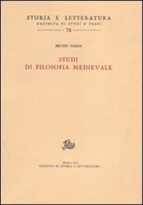 Studi di filosofia medievale