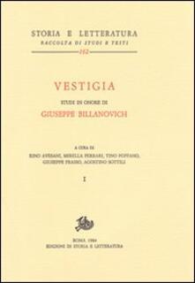 Camfeed.it Vestigia. Studi in onore di Giuseppe Billanovich Image