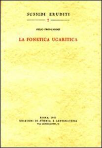 La fonetica ugaritica