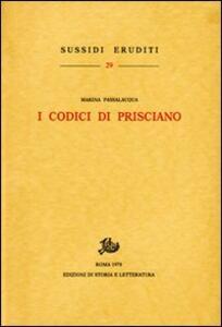 I codici di Prisciano
