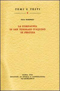 La Compagnia di san Tommaso d'Aquino di Perugia