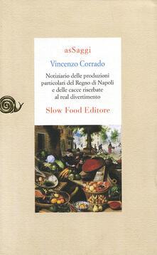 Grandtoureventi.it Notiziario delle produzioni particolari del Regno di Napoli e delle cacce riserbate al real divertimento Image