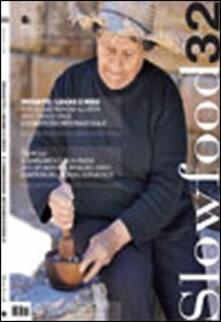 Slowfood. Vol. 32 - copertina