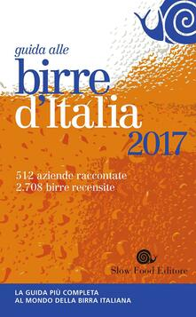 Guida alle birre d'Italia 2017 - copertina