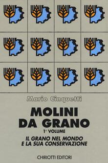 Molini da grano - Mario Cinquetti - copertina