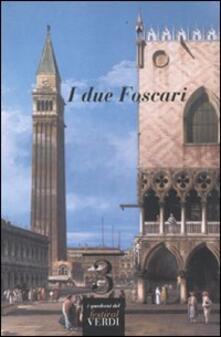 I due Foscari - Pierluigi Petrobelli - copertina