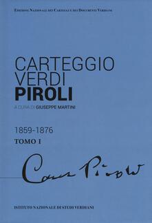 Carteggio Verdi-Piroli - copertina