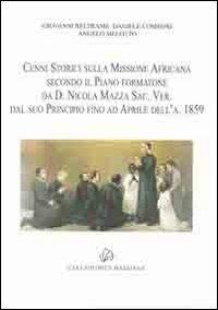 Cenni storici sulla missione africana - - wuz.it