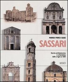 Rallydeicolliscaligeri.it Sassari. Storia architettonica e urbanistica dalle origini al '600 Image