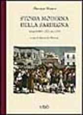 Storia moderna della Sardegna. Dall'anno 1773 al 1799
