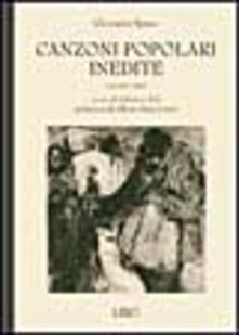 Promoartpalermo.it Canzoni popolari inedite in dialetto sardo centrale ossia logudorese. Vol. 3 Image