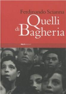 Quelli di Bagheria - Ferdinando Scianna - copertina