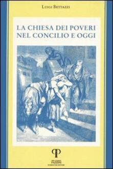 La Chiesa dei poveri nel Concilio e oggi - Luigi Bettazzi - copertina