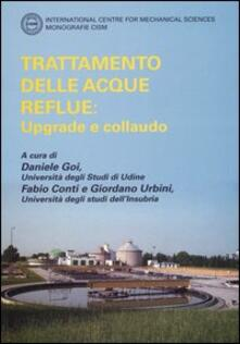 Trattamento delle acque reflue: upgrade e collaudo - copertina