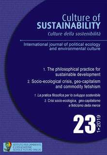 Camfeed.it Culture della sostenibilità. Ediz. italiana e inglese (2019). Vol. 23 Image