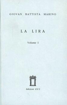 La lira - Giambattista Marino - copertina