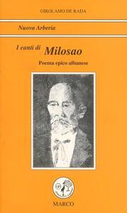 I canti di Milosao figlio del despota di Scutari
