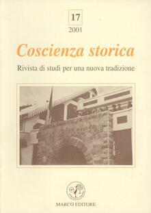 Antondemarirreguera.es Coscienza storica. Rivista di studi per una nuova tradizione. Vol. 17 Image