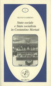 Stato sociale e Stato socialista in Costantino Mortati
