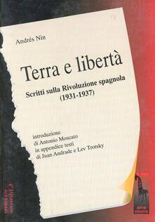 Nicocaradonna.it Terra e libertà. Scritti sulla rivoluzione spagnola (1931-1937) Image