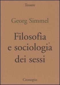 Filosofia e sociologia dei sessi