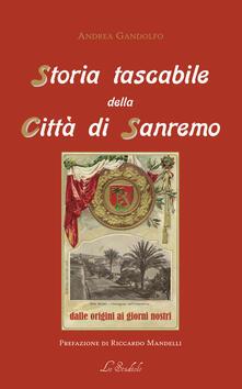 Tegliowinterrun.it Storia tascabile della città di Sanremo. Dalle origini ai giorni nostri Image