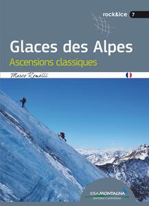 Glaces des alpes. Ascensions classiques
