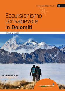 Escursionismo consapevole in Dolomiti - Denis Perilli - copertina